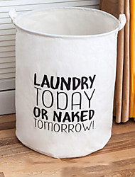 cheap -Fabrics Round Cool Home Organization, 1pc Storage Baskets