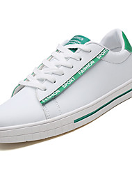cheap -Men's PU(Polyurethane) Summer Comfort Sneakers Color Block Red / Black / White / White / Green