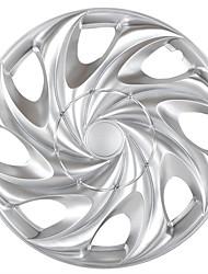 Недорогие -1 шт. Крышка ступицы 15 inch Мода пластик / Металл Колпаки на колеса Назначение Универсальный Дженерал Моторс Все года
