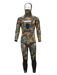 cheap -Men's Full Wetsuit 3mm Neoprene Diving Suit Anatomic Design Long Sleeve Back Zip, 2-Piece - Diving