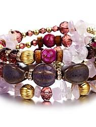 cheap -Women's Classic / Retro Wrap Bracelet - Creative Tropical, Romantic Bracelet Blue / Pink / Light Blue For Daily / Festival