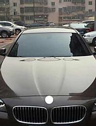 economico -Nero / Trasparente Adesivi auto Lavoro Pellicola parabrezza anteriore (Trasmittanza> = 70%) Car Film