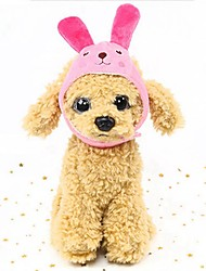cheap -Rodents / Dogs / Rabbits Hats, Caps & Bandanas / Bandanas & Hats Dog Clothes Character Fuchsia / Green / Blue Down Costume For Pets Female Costume Jewelry