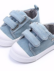 cheap -Boys' / Girls' Shoes Canvas Spring / Fall Comfort / First Walkers Sneakers for Dark Blue / Light Blue