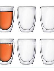 Недорогие -Drinkware Высокое боровое стекло Кружка Теплоизолированные 1 pcs