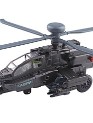 Недорогие -Игрушечные машинки Вертолет Вид на город утонченный Металл Детские Для подростков Все Мальчики Девочки Игрушки Подарок 1 pcs