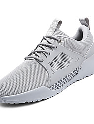 cheap -Men's Mesh Spring &  Fall Comfort Athletic Shoes White / Black / Gray