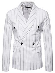 cheap -Men's Business Basic Blazer-Striped