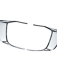 cheap -2pcs Car Car Light Eyebrow Business Paste Type For Front fog lights For Porsche Cayman 2015 / 2016 / 2017