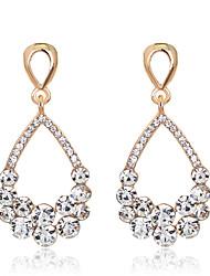 preiswerte -Damen Kristall Tropfen-Ohrringe - Tropfen Romantisch, Süß, Elegant Gold Für Hochzeit / Geburtstag