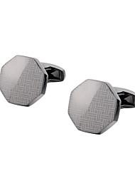 preiswerte -Geometrische Form Silber Manschettenknöpfe Kupfer Retro / Grundlegend Herrn Modeschmuck Für Geschenk / Zeremonie