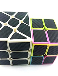 cheap -Rubik's Cube z-cube Set Scramble Cube / Floppy Cube 2*2*2 3*3*3 Smooth Speed Cube Rubik's Cube Puzzle Cube Matte Sticker Multi - mode Cases with LED Light Teen Adults' Toy All Boys' Girls' Gift