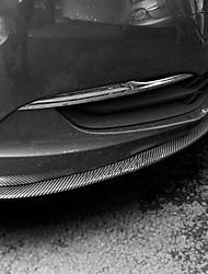 economico -2.5 m Striscia paraurti auto for Paraurti dell'automobile Esterno Normale Gomma da cancellare For Ford Tutti gli anni Mustang / Focus / Escort