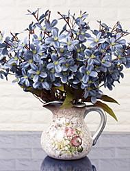 baratos -Flores artificiais 1 Ramo Clássico Estiloso Orquideas Flor de Mesa