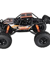 baratos -Carro com CR 2837 4CH 2.4G Rock Climbing Car 1:10 8 km/h KM / H