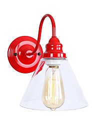 cheap -New Design / Eye Protection Modern / Contemporary / Country Wall Lamps & Sconces Living Room / Dining Room / Shops / Cafes Metal Wall Light 110-120V / 220-240V 40 W