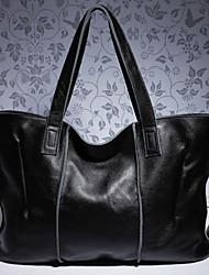 Недорогие -женские сумки наппа кожаная сумка молния вино / миндаль / черный