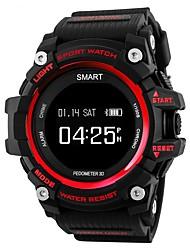 Недорогие -Смарт Часы T1 для iOS / Android Пульсомер / Водонепроницаемый / Длительное время ожидания / Регистрация деятельности / Регистрация дистанции / Датчик для отслеживания сна / Сидячий Напоминание