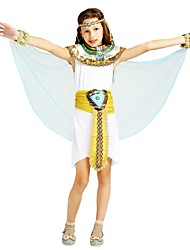 cheap -Pirate Outfits Girls' Halloween / Carnival / Children's Day Festival / Holiday Halloween Costumes White Solid Colored / Halloween Halloween