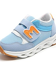 cheap -Girls' Shoes Mesh Spring & Summer Comfort Sneakers Running Shoes Hook & Loop for Kids Gray / Pink / Light Blue