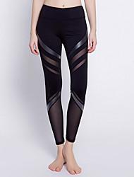 cheap -Women's Sporty Legging - Striped High Waist