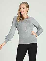 economico -Camicia Per donna Essenziale / Moda città Tinta unita