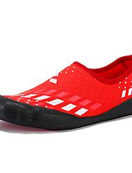Недорогие -Жен. Обувь Полотно Весна лето Удобная обувь Спортивная обувь Для плавания На плоской подошве Черный / Красный / Синий