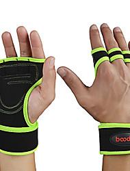 preiswerte -Gewichtheben Handschuhe Mit 2 pcs Mikrofaser Eingebaute Handgelenkbandagen, Verstellbar Voller Palm-Schutz und zusätzlicher Griff, Wasserdicht Zum Übung & Fitness / Fitnessstudio / Trainieren