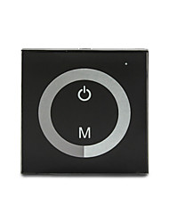 cheap -Glass 8A 1-Channel Touch Panel Dimmer Controller for Single Color LED Strip Lamp  (DC12-24V)