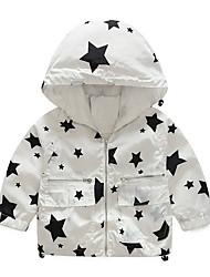 preiswerte -Kinder Jungen Geometrisch / Druck Langarm Jacke & Mantel