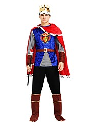 cheap -Movie / TV Theme Costumes Outfits Men's Halloween / Carnival / Children's Day Festival / Holiday Halloween Costumes Ink Blue Solid Colored / Halloween Halloween