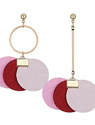 cheap -Women's Mismatched Mismatch Earrings - Vintage, Ethnic, Fashion Gray / Red / Pink For Party / Birthday