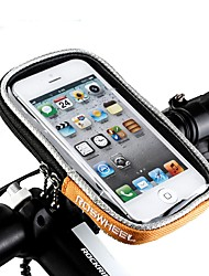 cheap -Bike Handlebar Bag 5.5 inch Touch Screen Cycling for iPhone 8 Plus / 7 Plus / 6S Plus / 6 Plus / 600D Polyester