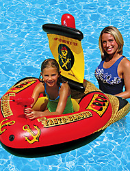 cheap -Inflatable Pool Floats PVC Durable, Inflatable Swimming / Water Sports for Adults / Kids 127*124*72 cm
