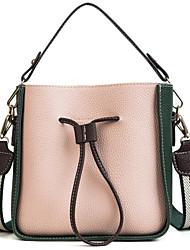 baratos -Mulheres Bolsas PU Conjuntos de saco 2 Pcs Purse Set Ziper Rosa / Bronze / Amarelo