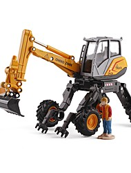 baratos -Carros de Brinquedo Veiculo de Construção / Escavadeiras de Rodas Veiculo de Construção Vista da cidade / Requintado Metal Todos Crianças / Adolescente Dom 1 pcs