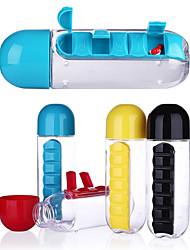 Недорогие -Drinkware Пластик Бутылки для воды / Организатор путешествий / Бокал Компактность / Мини / Boyfriend Подарок 1 pcs