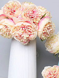 cheap -Artificial Flowers 5 Branch Classic Wedding / European Peonies Tabletop Flower