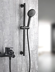 economico -Rubinetto doccia / Rubinetto vasca - Tradizionale Pittura Vasca e doccia Valvola in ceramica