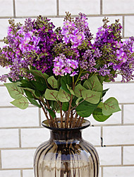 cheap -Artificial Flowers 1 Branch Classic Stylish / European Lilac Tabletop Flower