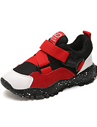 cheap -Boys' Shoes Mesh Fall & Winter Comfort Sneakers Walking Shoes for Kids Black / Gray / Red