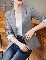 Недорогие -женский пиджак с твердым цветным остроконечным лацканом