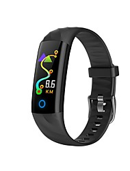 Недорогие -Умный браслет YY-S5 для Android iOS Bluetooth Спорт Водонепроницаемый Пульсомер Измерение кровяного давления Сенсорный экран Секундомер Педометр Напоминание о звонке Датчик для отслеживания активности