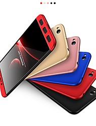 abordables -Coque Pour Xiaomi Redmi 5A Plaqué Coque Couleur Pleine Dur PC pour Redmi 5A