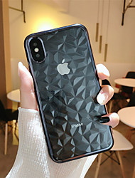 Недорогие -Кейс для Назначение Apple iPhone X / iPhone 8 Plus Покрытие / Прозрачный Кейс на заднюю панель Геометрический рисунок Мягкий ТПУ для iPhone X / iPhone 8 Pluss / iPhone 8