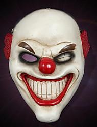 Недорогие -Праздничные украшения Украшения для Хэллоуина Маски на Хэллоуин / Хэллоуин Развлекательный Декоративная / Cool Белый 1шт