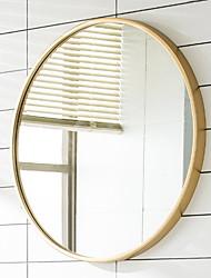Недорогие -Зеркало Зеркальная поверхность Модерн Закаленное стекло / Металл 1шт - Зеркальная поверхность Украшение ванной комнаты