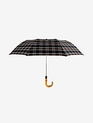 abordables -boy® Acero Inoxidable / El material especial Hombre A prueba de Viento / Nuevo diseño / súper resistente al agua Paraguas de Doblar