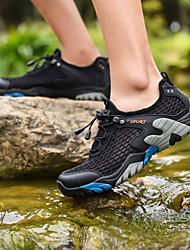 cheap -Men's Hiking Shoes TR Camping / Hiking Cushioning, Wearable, Breathable Mesh Brown+Gray / Grey / Khaki