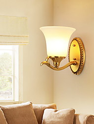 cheap -Modern / Contemporary Wall Lamps & Sconces Living Room Metal Wall Light 220-240V 40 W